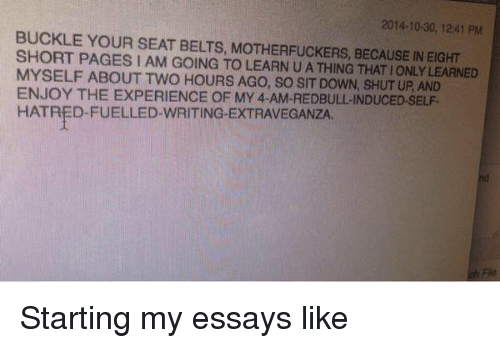 should college application essays funny