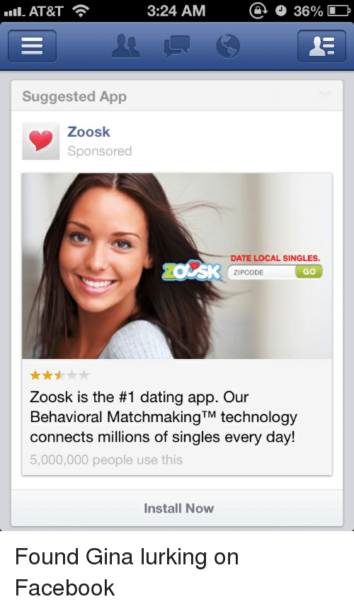 dating zoosk chatten