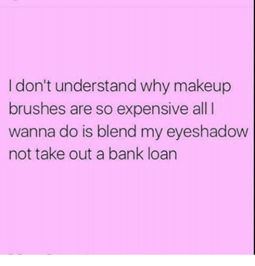 Why is makeup so expensive