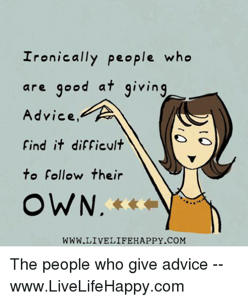 Advice images