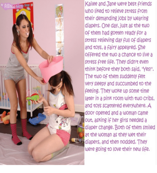 Something Femal domination diaper story think, that