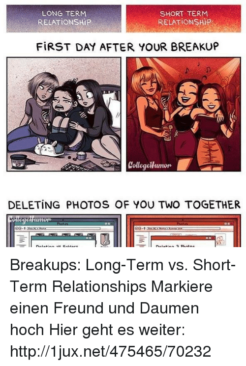 Start dating after long term relationship