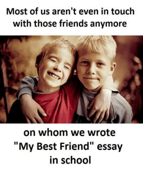 all about my best friend essay