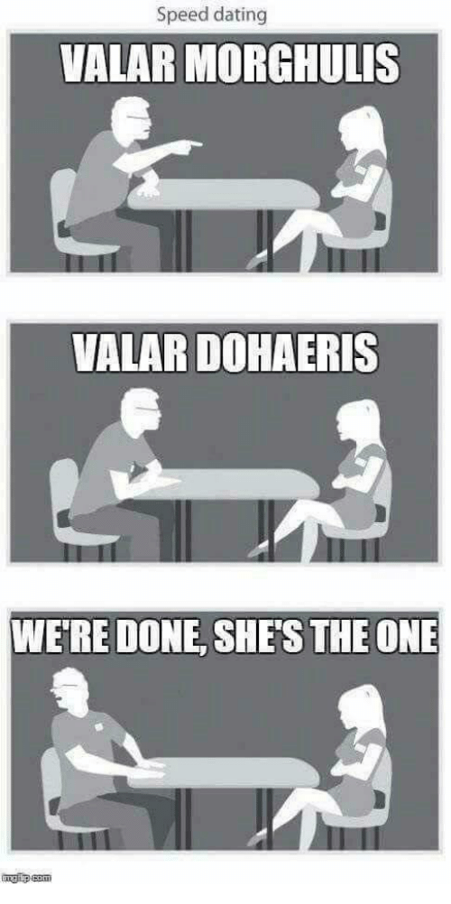 Speed dating puns