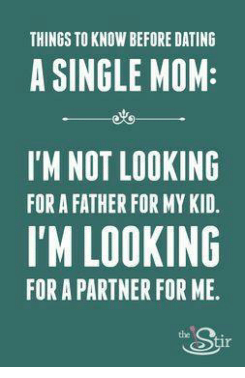 Single dad dating rules