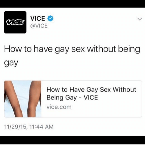 How to have have gay sex