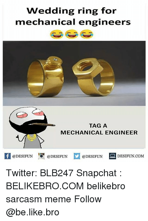 Wedding rings for engineers