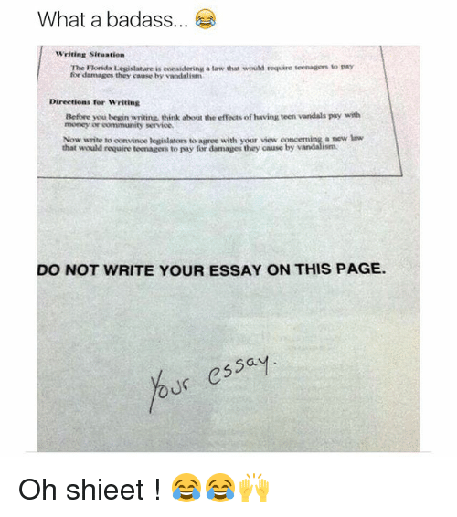 Essay about funny situation