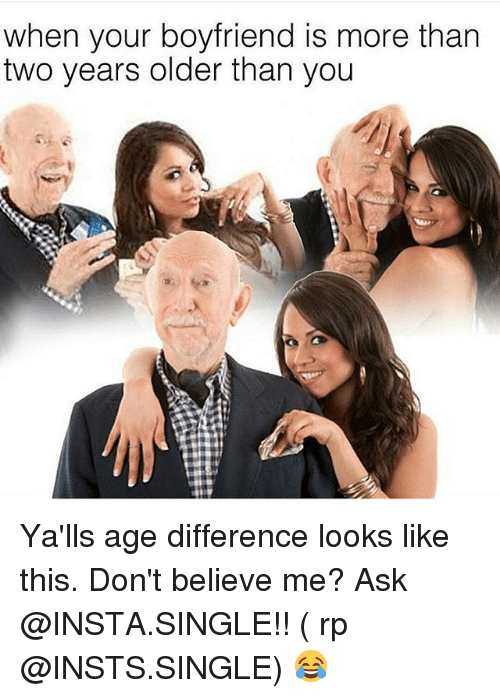 dating a man more than 10 years older