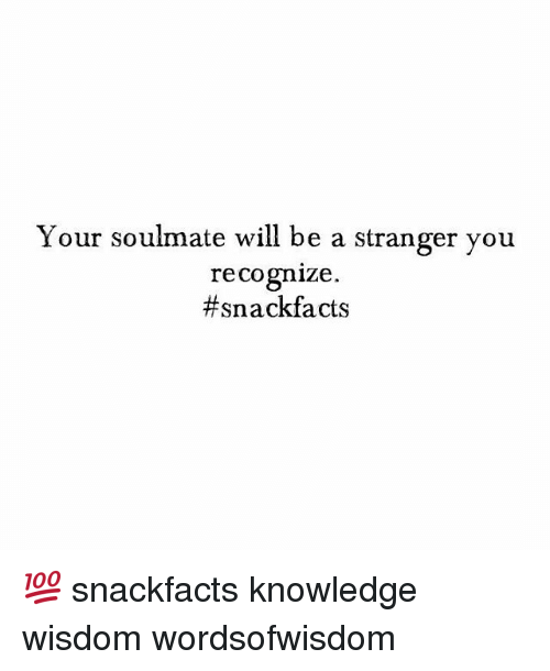 How to Recognise Your Soulmate