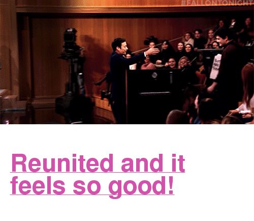 """Cocktails: <h2><a href=""""http://www.nbc.com/the-tonight-show/video/president-obamas-farewell-address-keurig-to-make-cocktails-monologue/3452184"""" target=""""_blank"""">Reunited and it feels so good!</a></h2>"""
