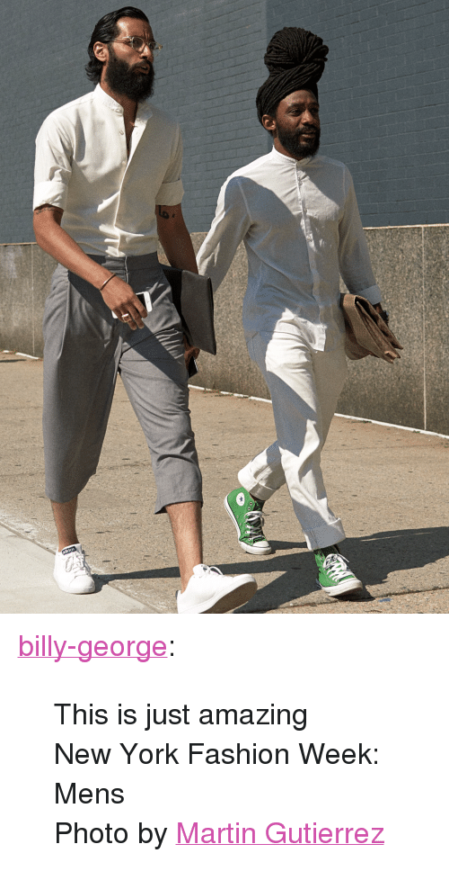 """new york fashion week: <p><a href=""""http://blog.billygeorge.com.au/post/124522023123/this-is-just-amazing-new-york-fashion-week-mens"""">billy-george</a>:</p>  <blockquote><p>This is just amazing</p><p>New York Fashion Week: Mens</p><p>Photo by<a href=""""http://mamamarty.tumblr.com/"""">Martin Gutierrez</a></p></blockquote>"""