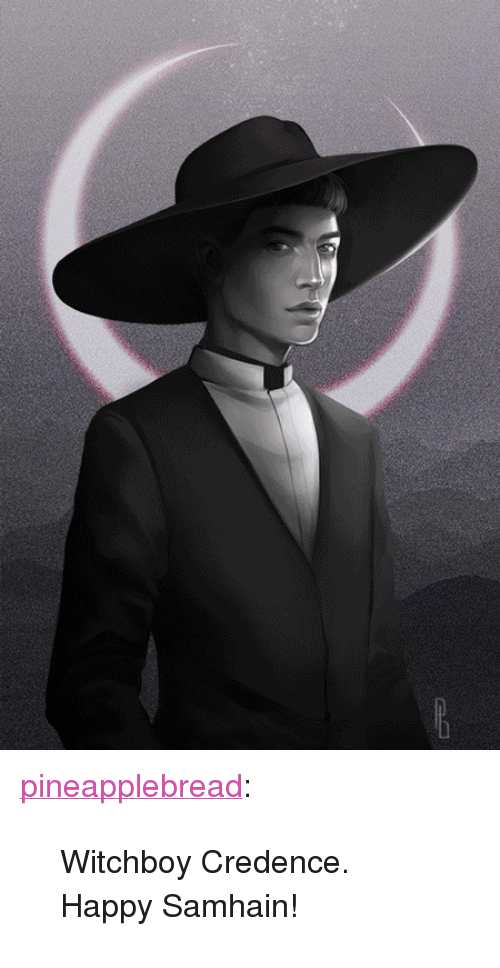 """credence: <p><a href=""""http://pineapplebread.tumblr.com/post/166960487063/witchboy-credence-happy-samhain"""" class=""""tumblr_blog"""">pineapplebread</a>:</p><blockquote><p>Witchboy Credence.<br/>Happy Samhain!</p></blockquote>"""