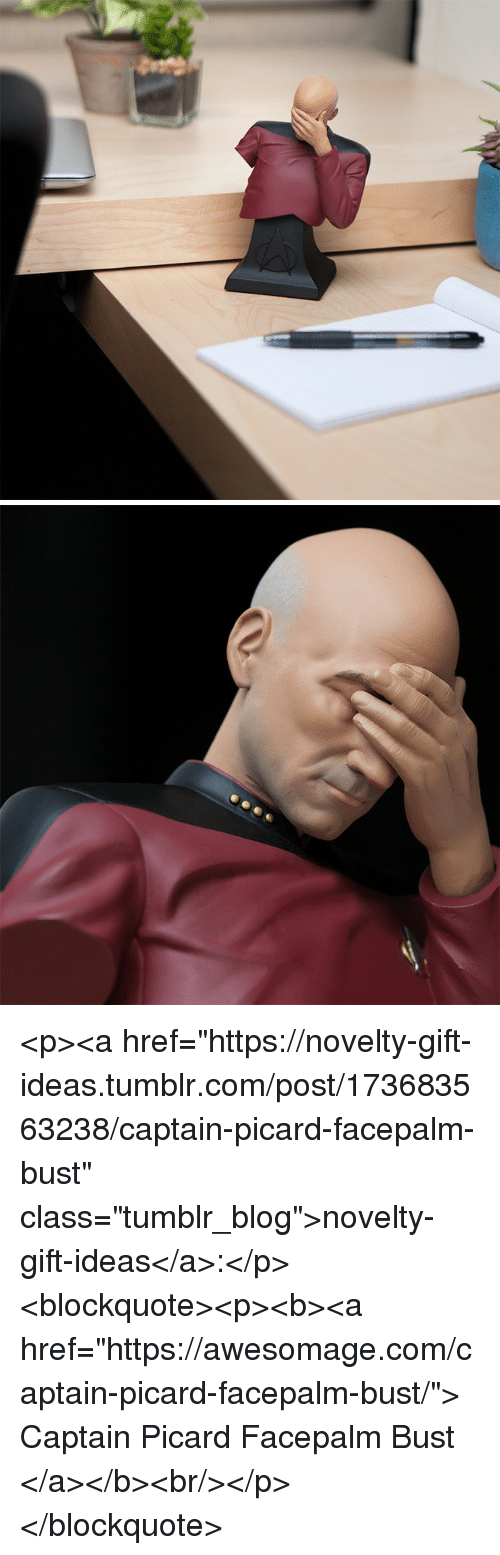 "facepalm: <p><a href=""https://novelty-gift-ideas.tumblr.com/post/173683563238/captain-picard-facepalm-bust"" class=""tumblr_blog"">novelty-gift-ideas</a>:</p><blockquote><p><b><a href=""https://awesomage.com/captain-picard-facepalm-bust/"">  Captain Picard Facepalm Bust   </a></b><br/></p></blockquote>"
