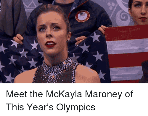 Olympics, This, and McKayla Maroney: <p>Meet the McKayla Maroney of This Year&rsquo;s Olympics</p>