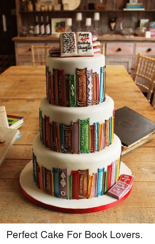 Book Lovers: <p>Perfect Cake For Book Lovers.</p>