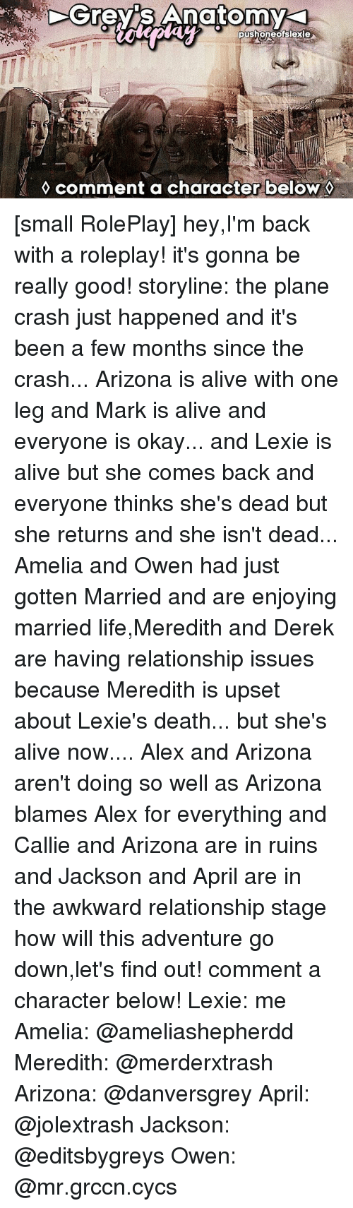 Grey Anatomy Pusheneoislexie Comment a Character Below Small ...