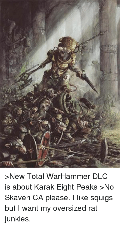 Victor Saltzpyre Its Your Fault Elf You Move Like A Skaven And
