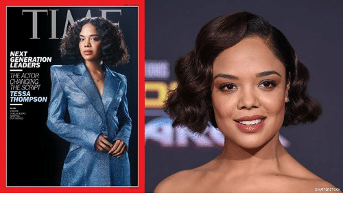 shutterstock: ΤΙ  TIN  NEXT  GENERATION  LEADERS  THE ACTOR  CHANGING  THE SCRIPT  TESSA  THOMPSON  MORE  TRALRAERS  SHAG  woRLO  SHUTTERSTOCK