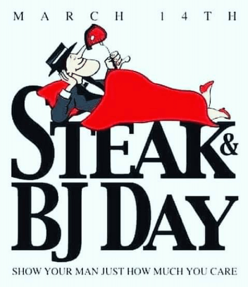 Bj Day: мAR Cн  4 T  TEAK  BJ DAY  &  SHOW YOUR MAN JUST HOW MUCH YOU CARE