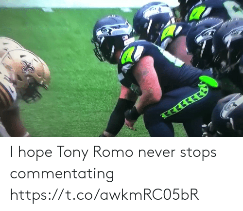 Tony Romo: इरछी  ब  सरर I hope Tony Romo never stops commentating https://t.co/awkmRC05bR