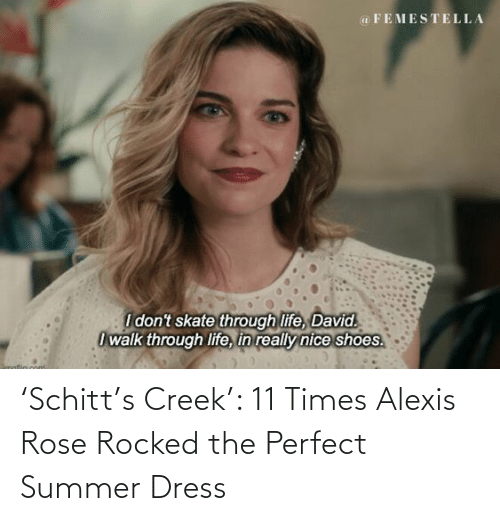 Rose: 'Schitt's Creek': 11 Times Alexis Rose Rocked the Perfect Summer Dress
