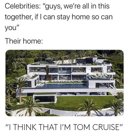 "Tom Cruise: ""I THINK THAT I'M TOM CRUISE"""