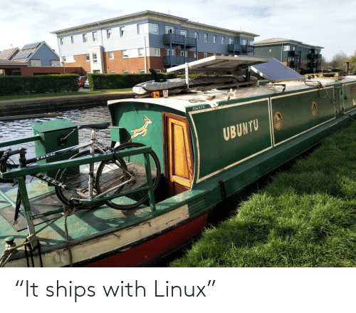 "ships: ""It ships with Linux"""