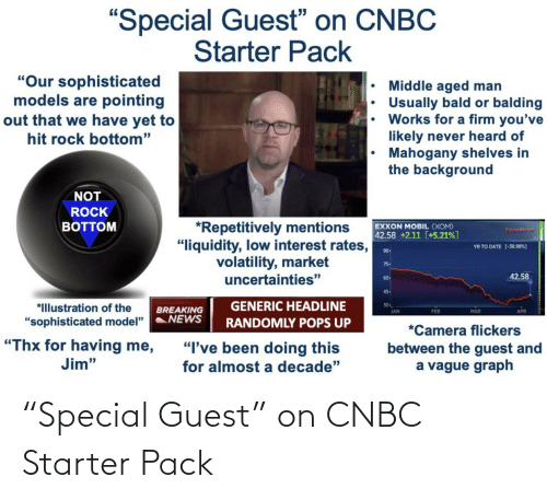 """Guest: """"Special Guest"""" on CNBC Starter Pack"""