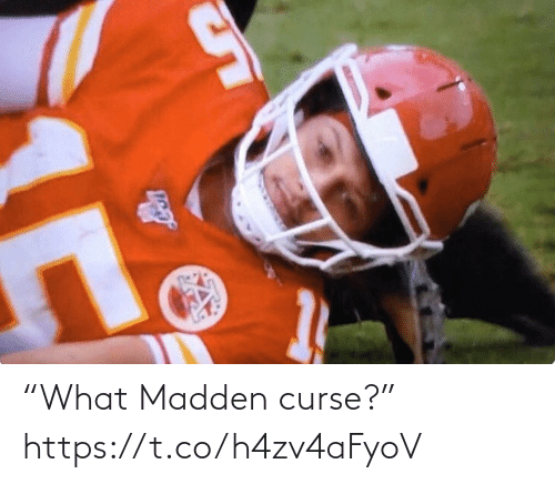 "curse: ""What Madden curse?"" https://t.co/h4zv4aFyoV"