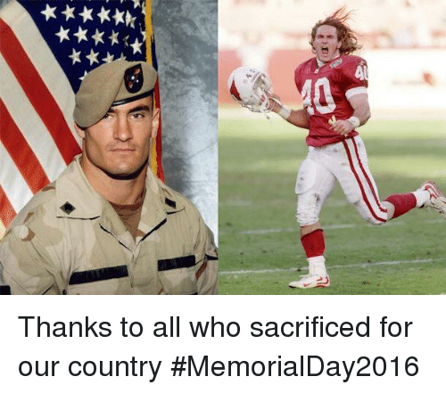 SIZZLE: ①く  ★★★★★才  ★★★★八九 Thanks to all who sacrificed for our country #MemorialDay2016