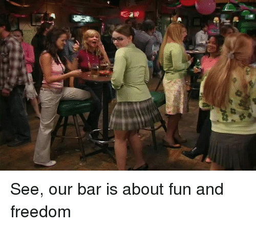 Funny and Freedom: 錦  at See, our bar is about fun and freedom