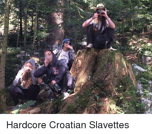 Croatian: 높 Hardcore Croatian Slavettes