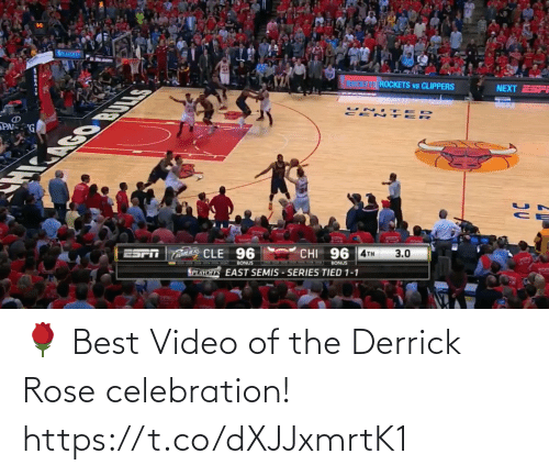 Rose: 🌹 Best Video of the Derrick Rose celebration!  https://t.co/dXJJxmrtK1