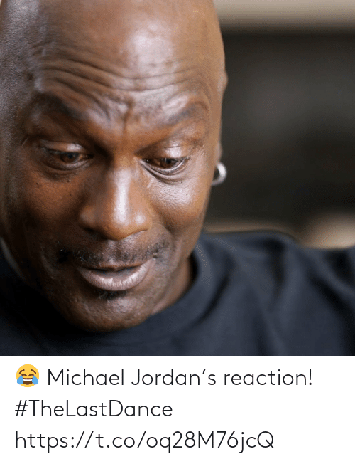 reaction: 😂 Michael Jordan's reaction! #TheLastDance https://t.co/oq28M76jcQ