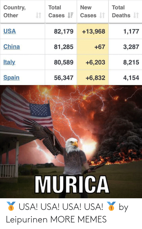 usa: 🥇 USA! USA! USA! USA! 🥇 by Leipurinen MORE MEMES
