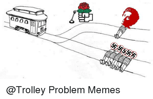 trolley problem The trolley problem, or would you throw the fat guy off the bridge - duration: 1:02 workman publishing 13,857 views.