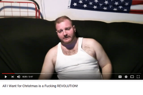 Youtube Snapshots: 020 347  All Want for Christmas is a Fucking REVOLUTION!