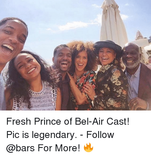 Fresh Prince of Bel-Air: 08  o5  ji:11 Fresh Prince of Bel-Air Cast! Pic is legendary. - Follow @bars For More! 🔥