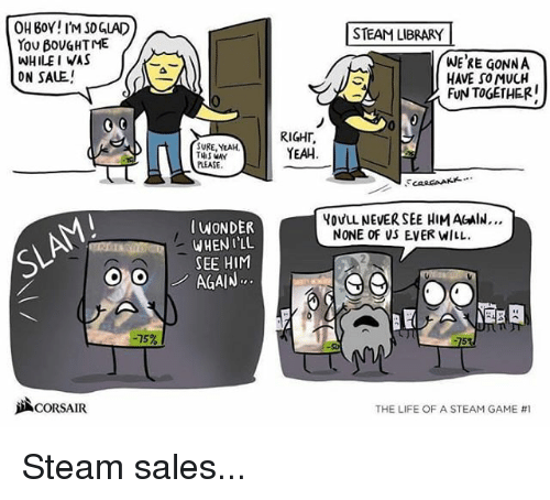 how to see when you bought a game steam