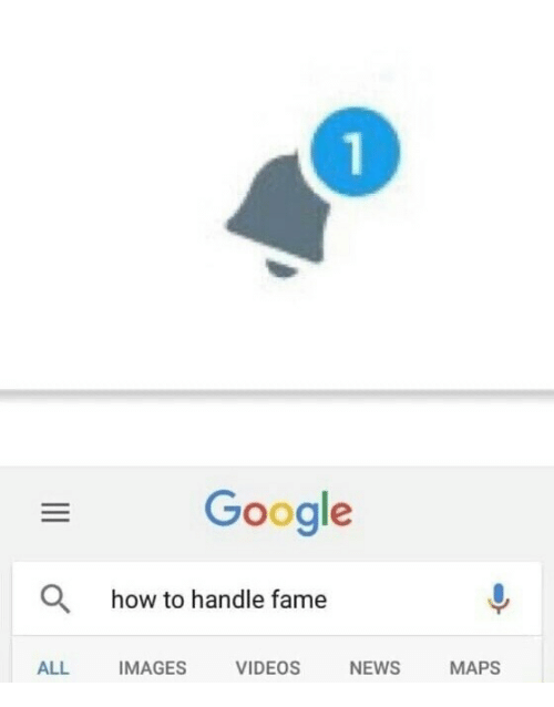 How To Handle Fame: 1  Google  how to handle fame  ALL IMAGES VIDEOSNEWS MAPS