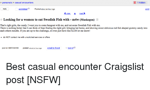 craigslist casual encounters s wanted