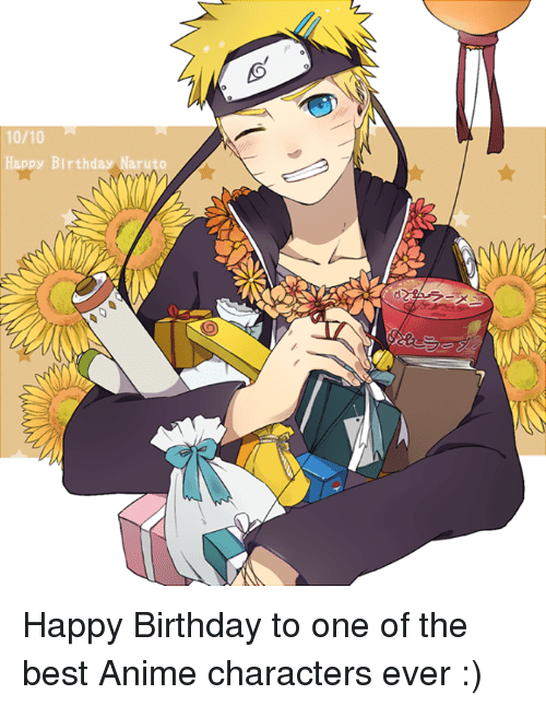 Funny Happy Birthday And Naruto Memes Of 2016 On SIZZLE