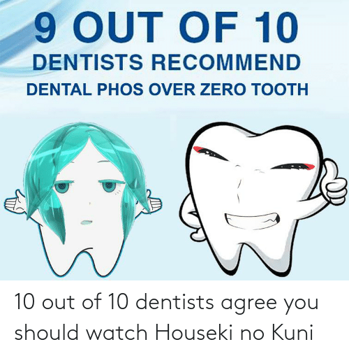 10 Out Of 10: 10 out of 10 dentists agree you should watch Houseki no Kuni