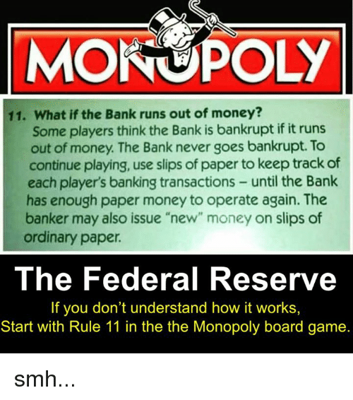 the federal money supply essay Central banks use tools such as interest rates to adjust the supply of money to   banks such as the us federal reserve (fed) or the european central bank.