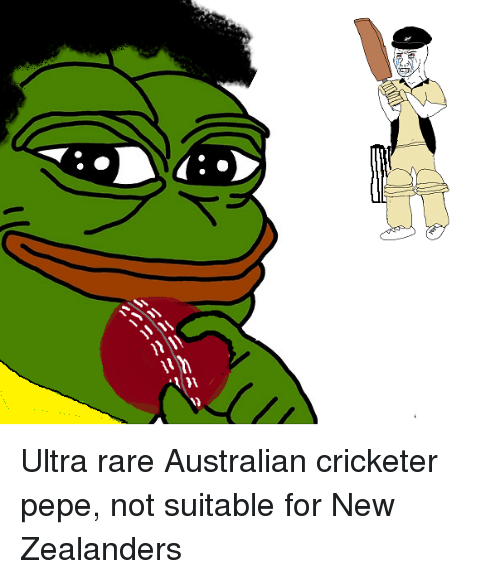 ... NN --12 Ultra Rare Australian Cricketer Pepe Not Suitable for New