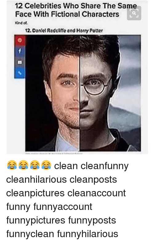 Funny Meme Characters : Celebrities who share the same face with fictional