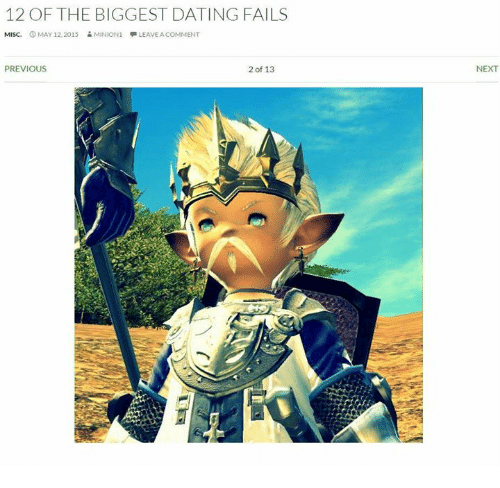 7 Biggest Dating Fails