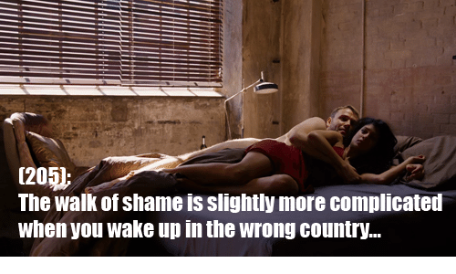 The Walk: 12  The walk of shame is slightly more complicated  when you wake up in the wrong country