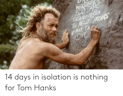 Hanks: 14 days in isolation is nothing for Tom Hanks